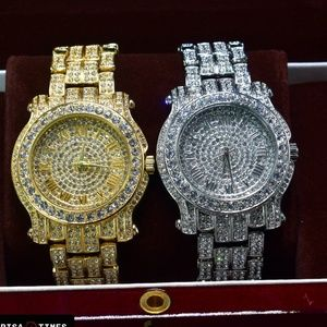 Other - 14K Gold & White Gold PT Iced Out Luxury Watches